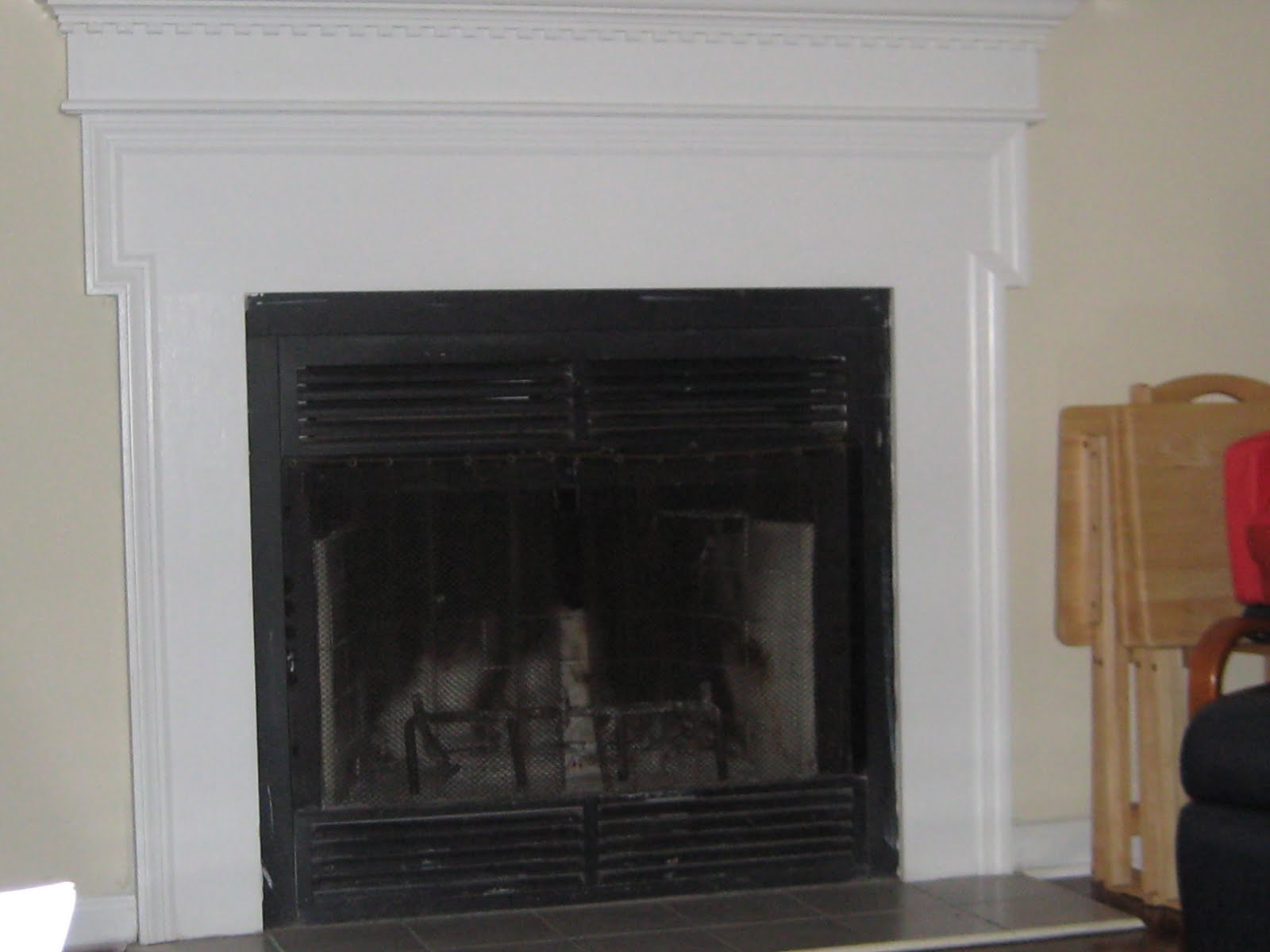 It's FUN to craft!: Fireplace Cover Up