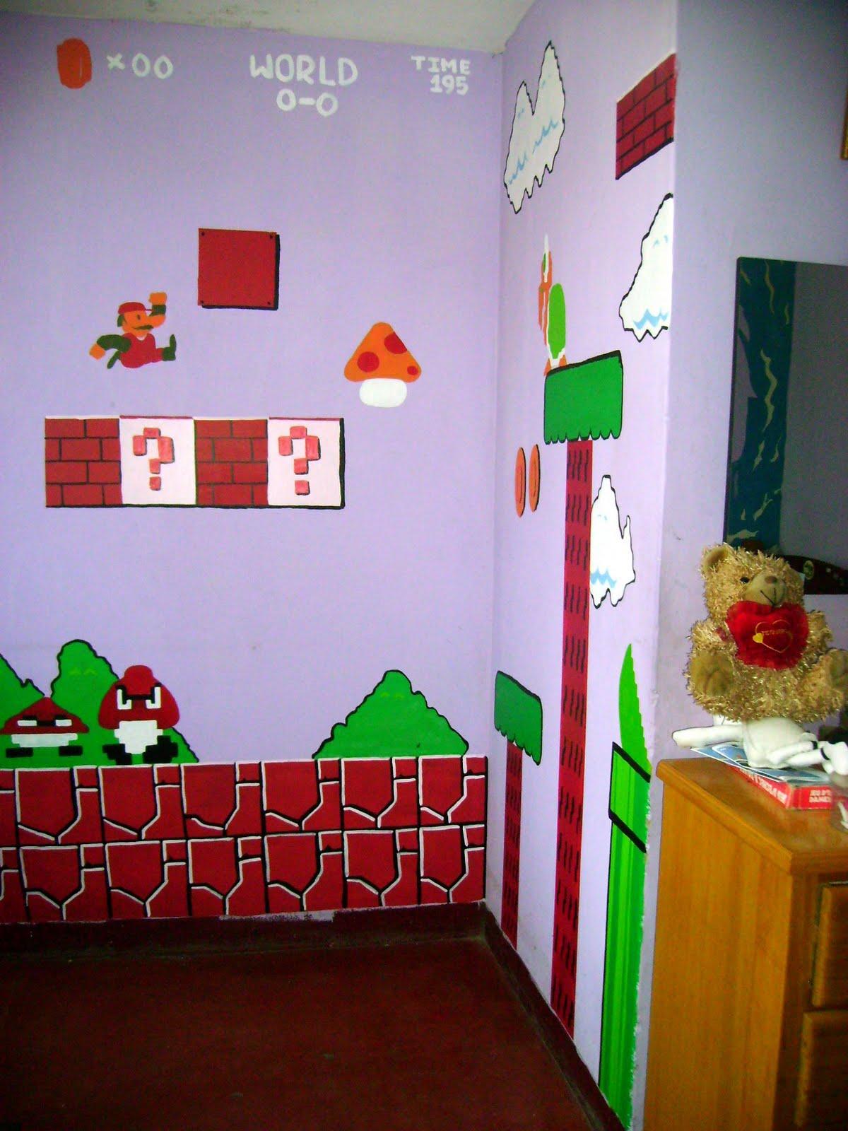 Mrdyaz : Pintado de Cuarto - Mario Bros