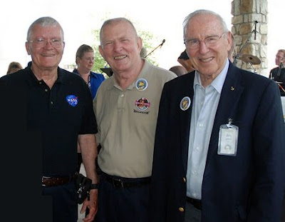 Images of Apollo 13 Crew Today - #SpaceMood