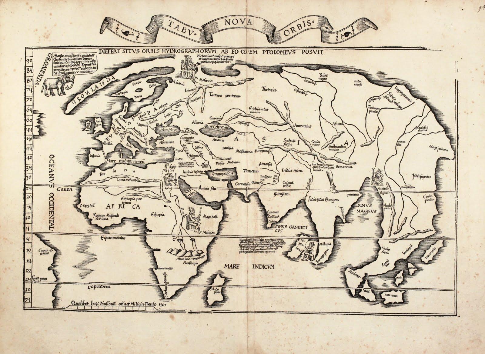 S Vikas World Map 16th Century