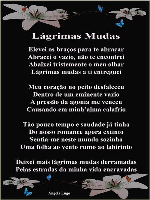 LÁGRIMAS MUDAS