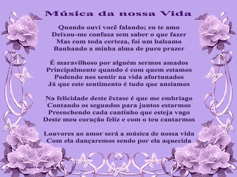 MÚSICA DA NOSSA VIDA