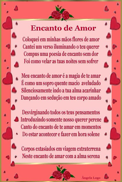 ENCANTO DE AMOR (l)