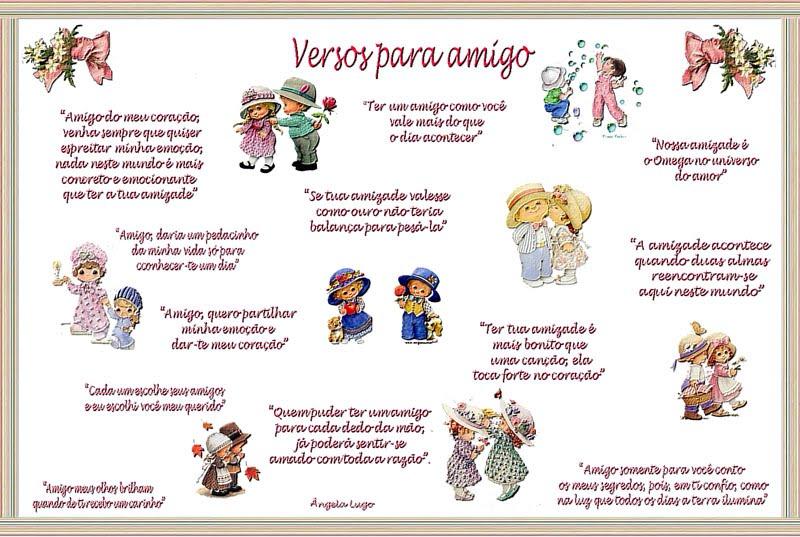 Ver Verso De Amizade Imagui