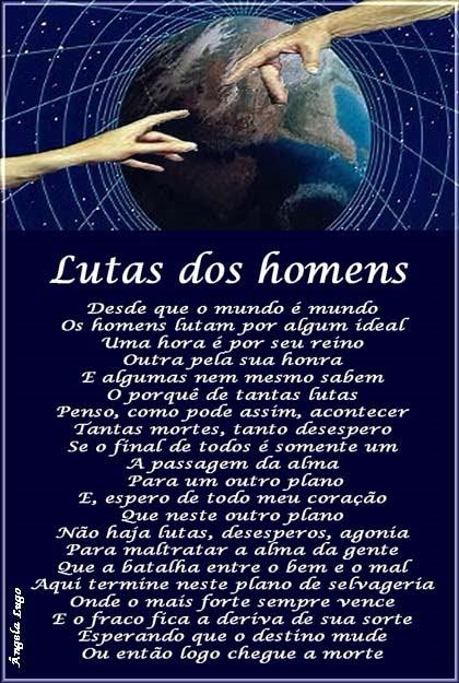 LUTAS DOS HOMENS