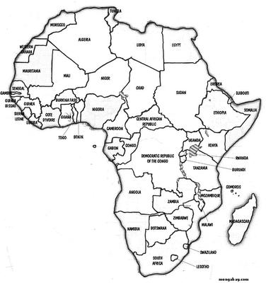 ensinar e aprender: Atividades sobre a África