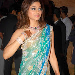 Shamita Shetty Gorgeous In Transparent Saree | Hot Shamita