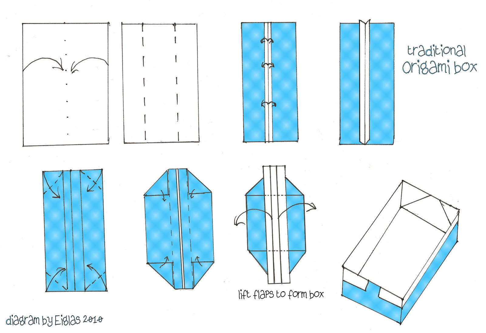 Folding Origami Box Diagram Gl1800 Wiring Eiglas Crafty Cardmakers Spotlight On Fancy Folds
