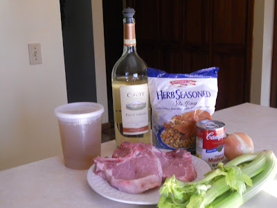 Baked Stuffed Pork Chops Ingredients