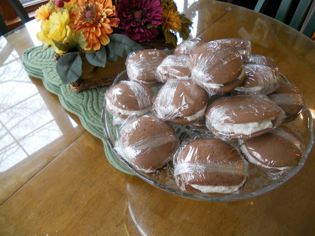 Individually Wrapped Whoopie Pies