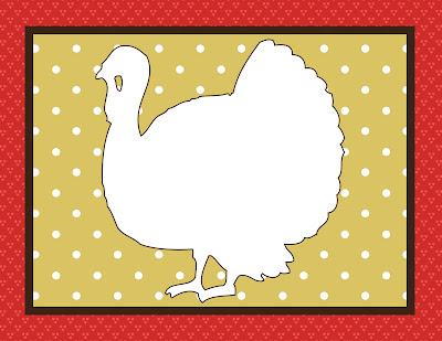 Free Printable Kids Craft Thanksgiving Placemats