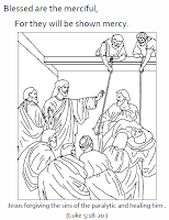 Catholic Faith Education: Beatitudes Coloring Pages
