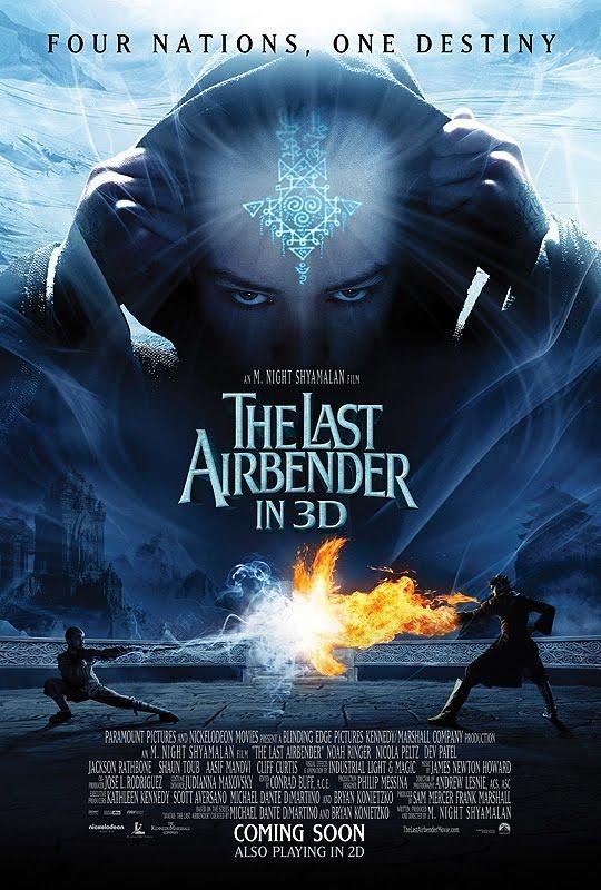 Last Airbender 3D Movie Poster : Teaser Trailer The Last Airbender 2 Movie Release Date 2020