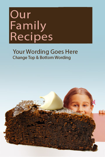 New Cookbook Cover Templates Added  Creating a Family