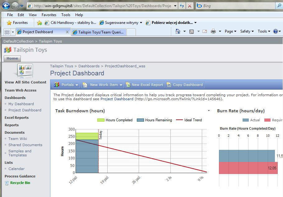 project dashboards Ready-to-use project management kpi dashboard template in excel includes most used metrics (like cpi, sv), trend charts, comparison analysis and more.