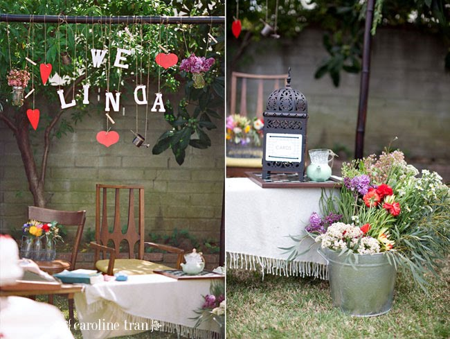 Decorella: Backyard Bridal Shower