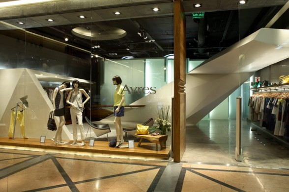 Ayres Retail Store in Buenos Aires by Dieguez Fridman