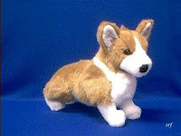 pembroke welsh corgi plush stuffed animal