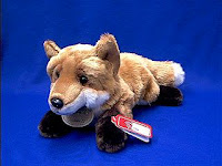fox plush stuffed animal