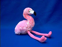 flamingo plush stuffed animal flavia