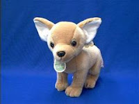 chihuahua plush stuffed animal bebe
