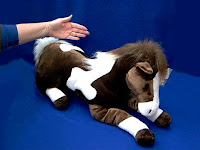 large horse plush stuffed animal