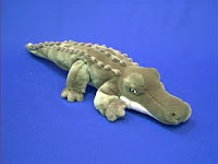 alligator plush stuffed animal toy swampy