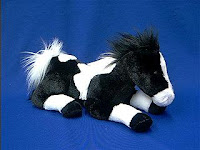 paint horse plush stuffed animal