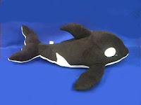 orca plush stuffed animal toy