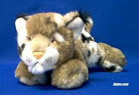bobcat plush stuffed animal toy
