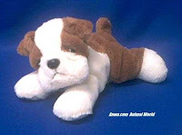 bulldog plush stuffed animal semper fi