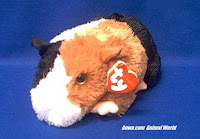 guinea pig plush stuffed animal ty patches
