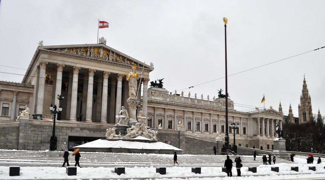 Wondering and Wandering.: Vienna, AUSTRIA: A Winter ...