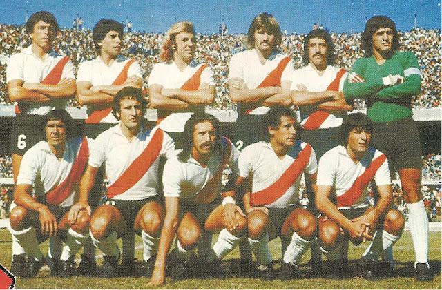 Resultado de imagen para river campeon metropolitano 1977