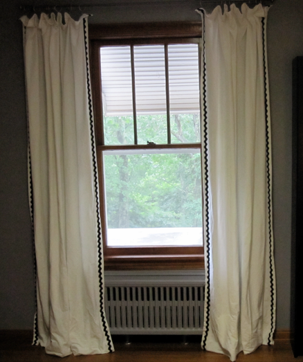 The Good Days And The Bad Diy More Curtains For Super Cheap
