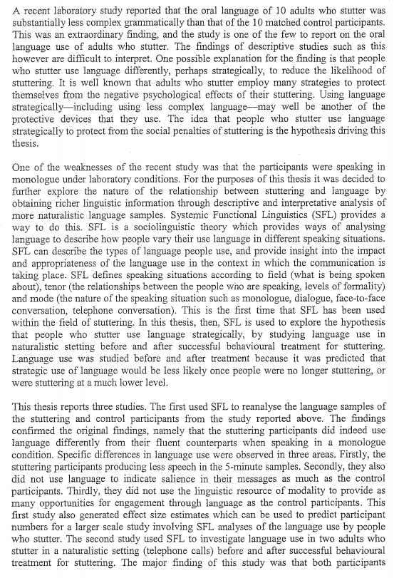 Acknowledgments dissertations