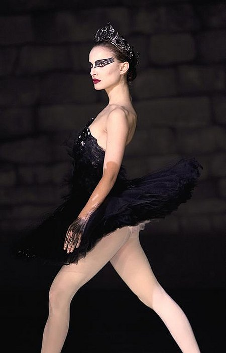 is Nina Sayers in Darren Aronofsky's recent feature, Black Swan (2010).