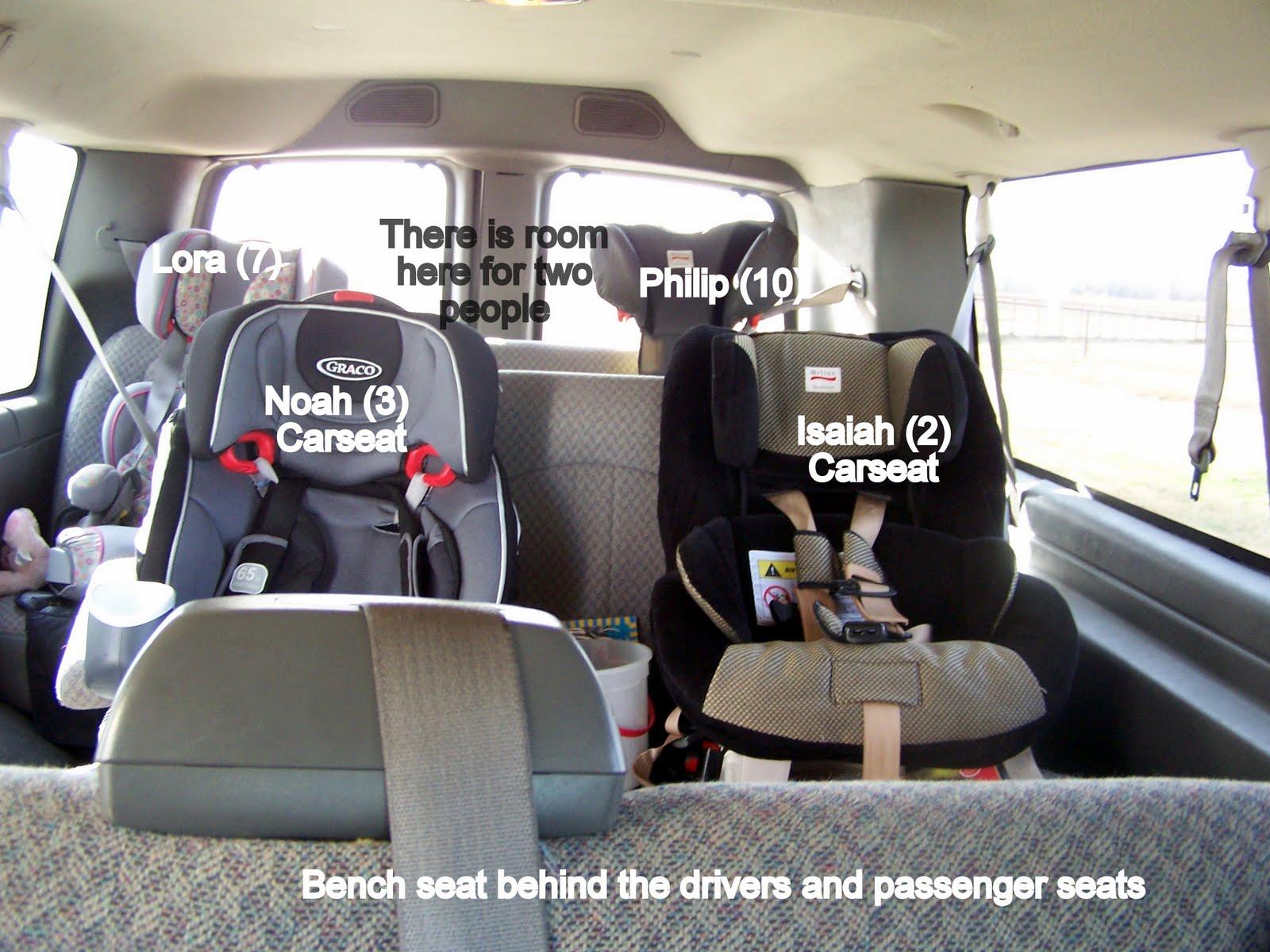 What 15 Passenger Van Organization Looks Like