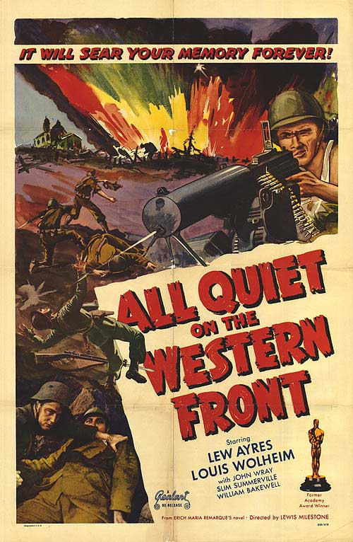 a review of erich maria remarques all quiet on western front For more than seventy years erich maria remarque's startlingly realistic and intensely moving anti-war novel all quiet on the western front has remained a.