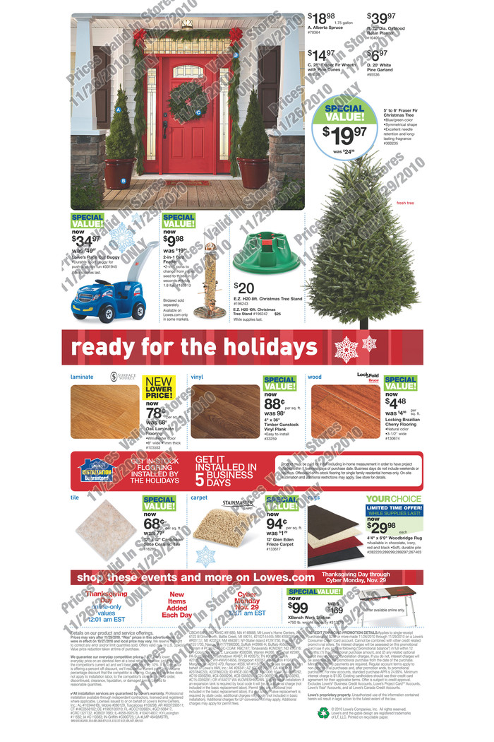 Coupon Keri Lowes Black Friday Ad