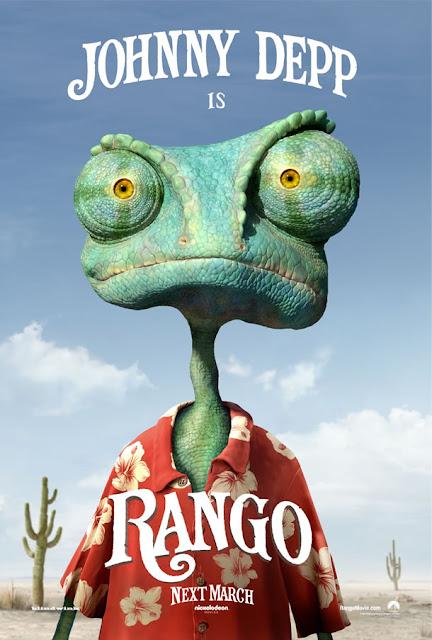 [新片追蹤] RANGO(飆風雷哥)-強尼戴普的動畫片  (2/9 主題曲與預告片)