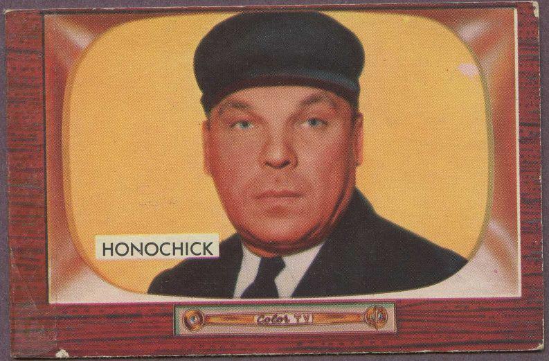 Baseball Card News By Deanscardscom 1955 Bowman Baseball Umpire Cards