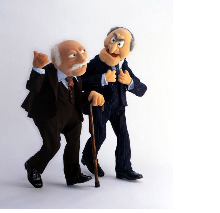 Quotes On The Muppets As Adult Oriented Characters: Muppets Statler And Waldorf Quotes. QuotesGram