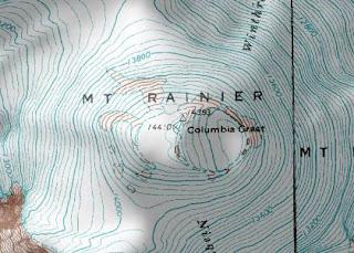 Mt Rainier Topographic Map.Maps Maps Maps Topographic Map