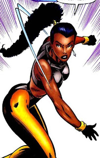 Black Superheroines!: Krystalin X Men Girl Main Character