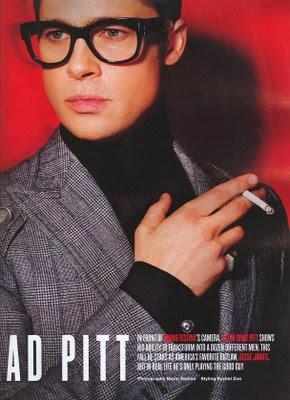 e3f8f07017dfe Brad Pitt rocks these Tom Ford glasses flawlessly. Very dapper indeed.