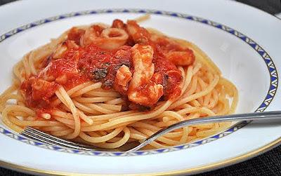 Spaghetti con ragù di seppie - 1