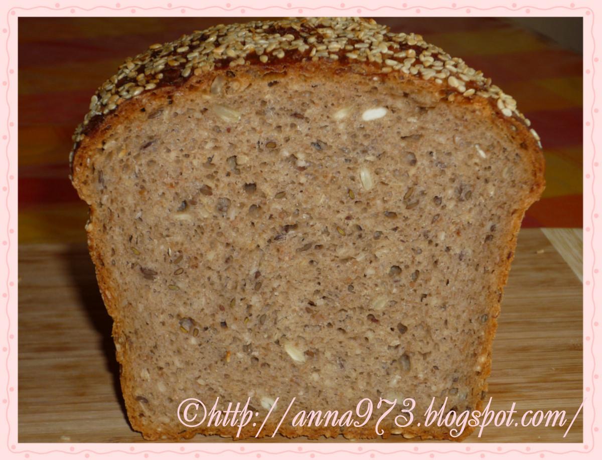 Ржаной хлеб с хлопьями | Выпечка хлеба и не только...