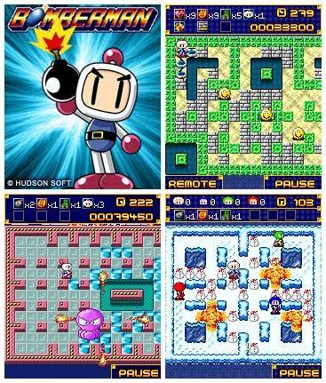 Bomberman 1 Deluxe Para El Celular Juego Java Un Mundo Movil