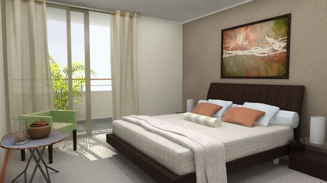 Dormitorios con terraza for Habitaciones prefabricadas para terrazas